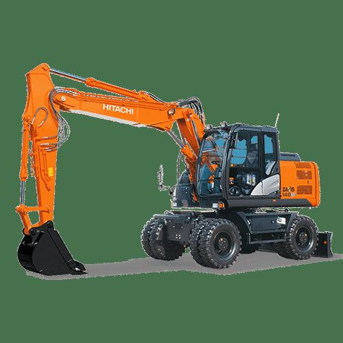 Wheeled Excavator /